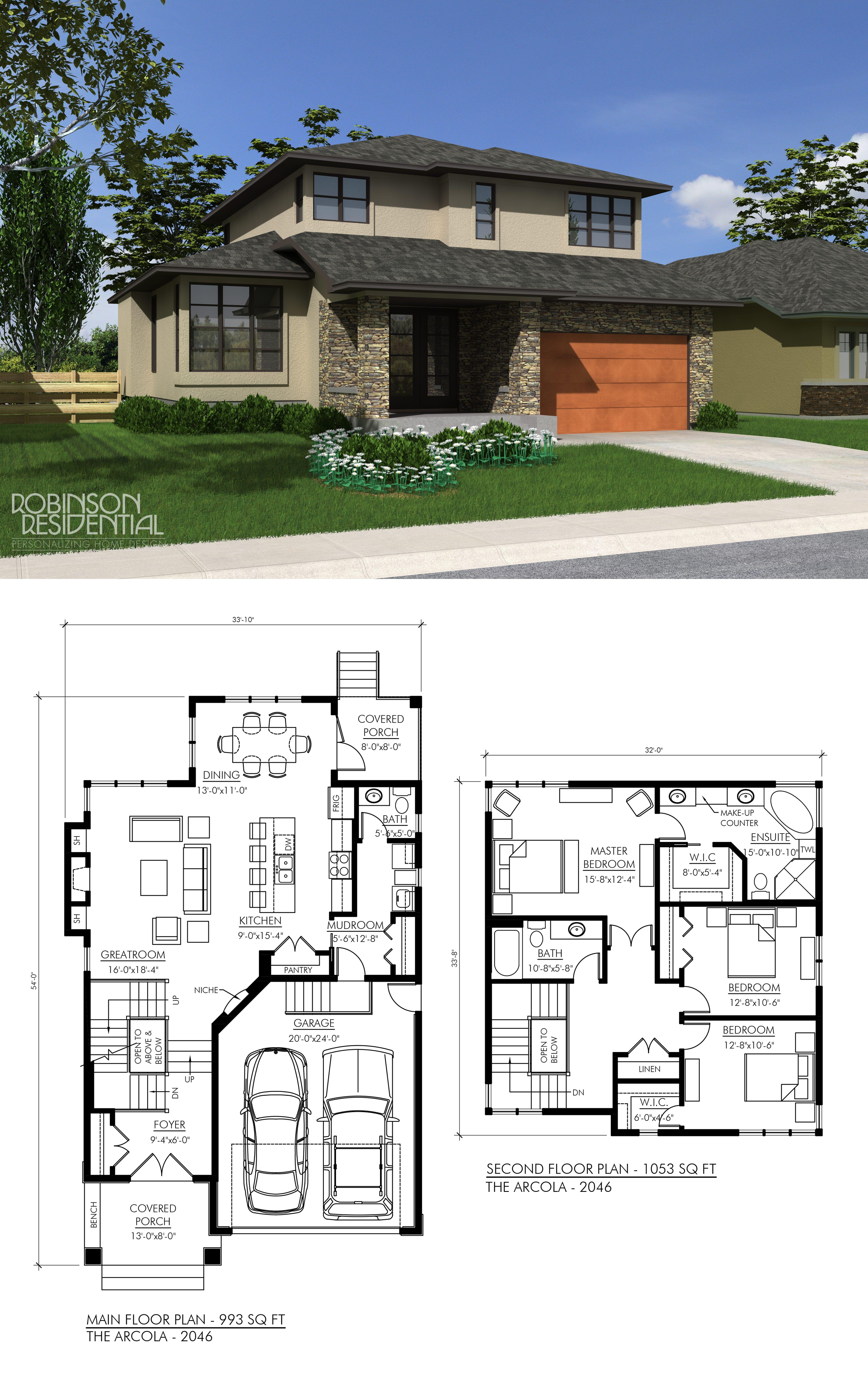 2046 sq ft 3 bedroom 2 5 bath micro house plans dream
