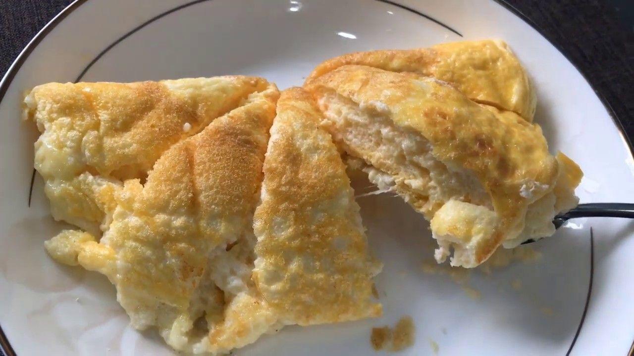 Omelette Super Fluffy Cloud Eggs