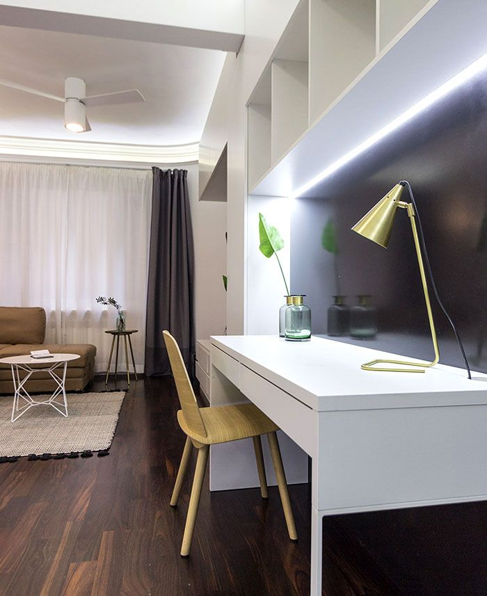 SpaceSaving Design for Small Apartment Petit