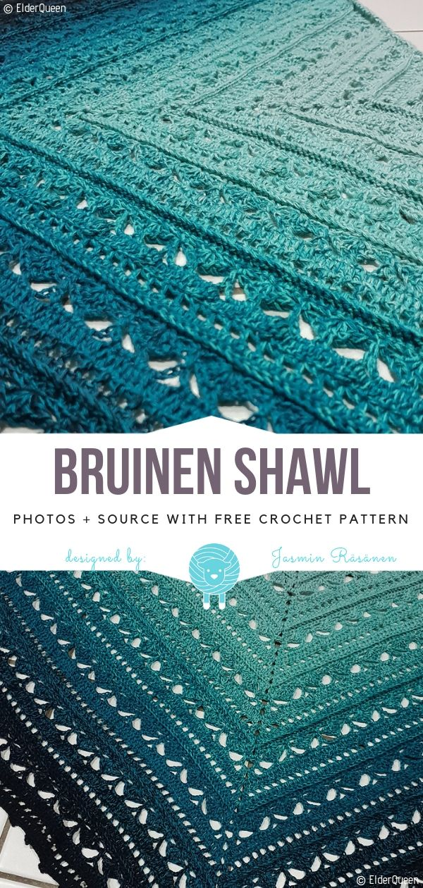 Dreamy Crochet Shawls Free Patterns #shawlcrochetpattern