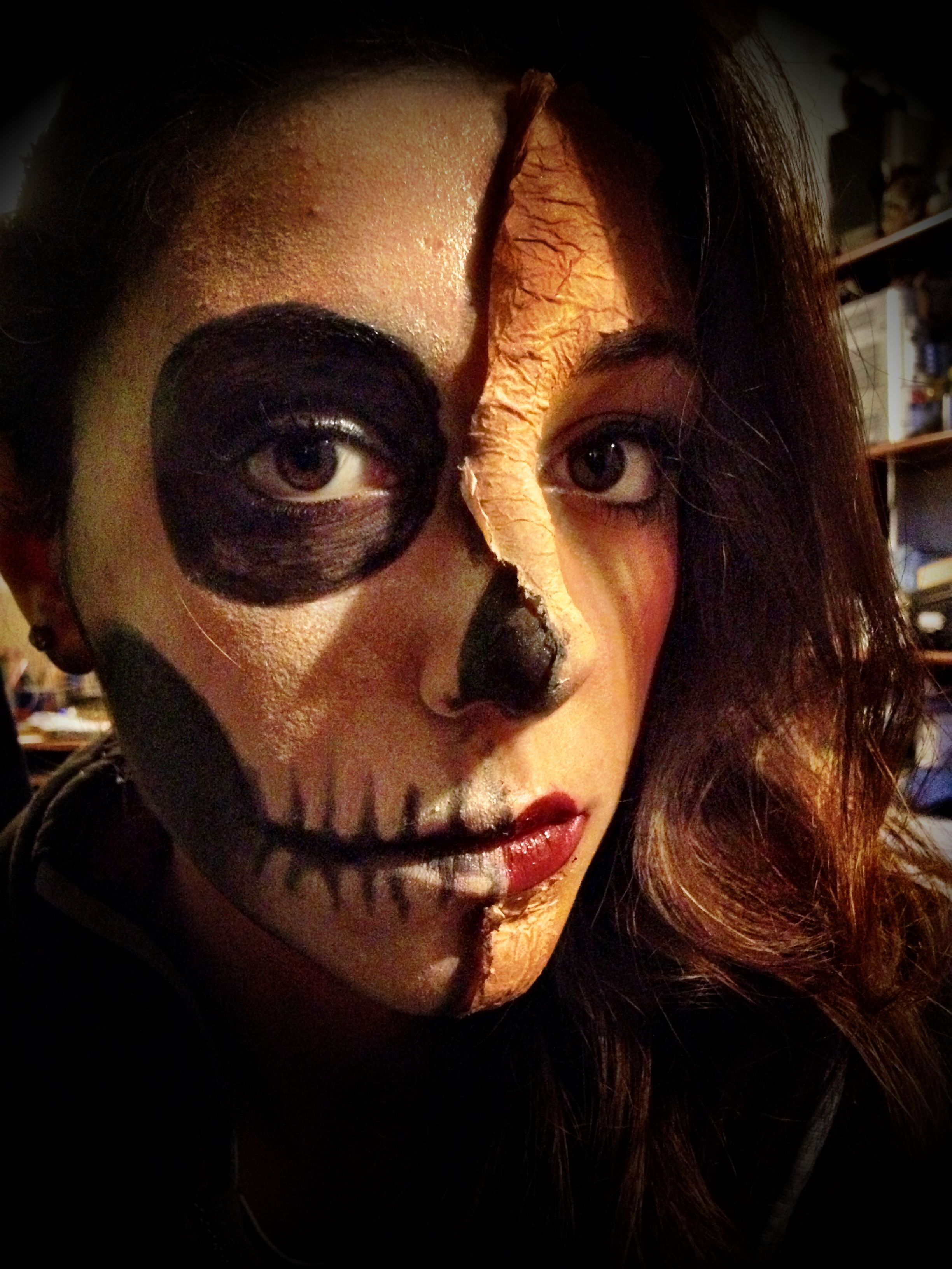 Me & my make up for halloween )