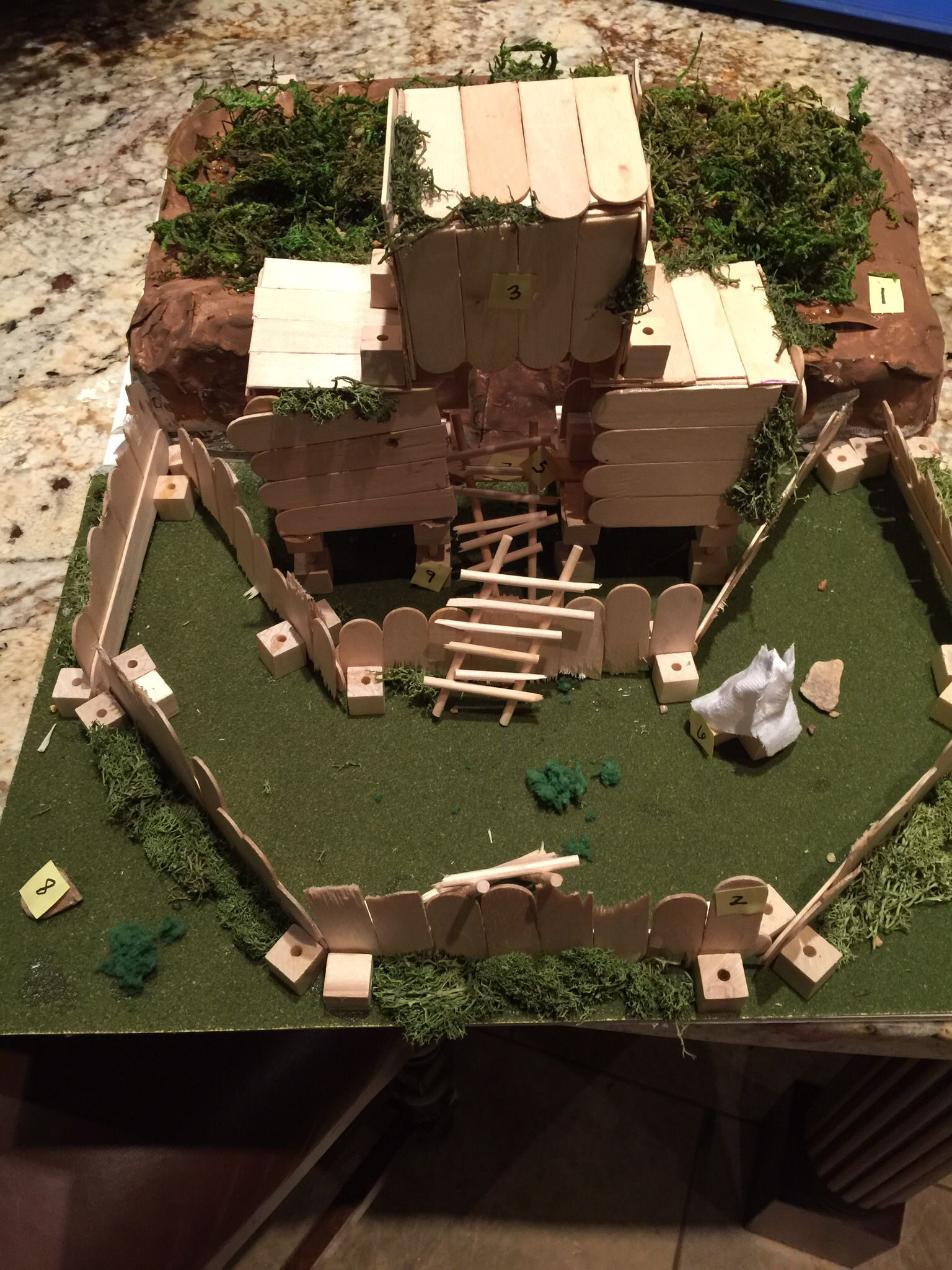 robinson crusoe lesson plan literature lesson robinson crusoe project my son collin created a replica of what he believes
