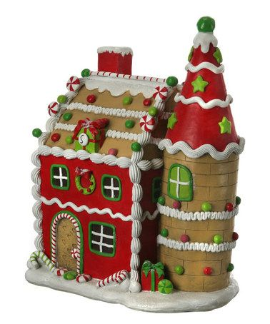 Love this Large Candy House Figurine by Regency International on #zulily! #zulilyfinds