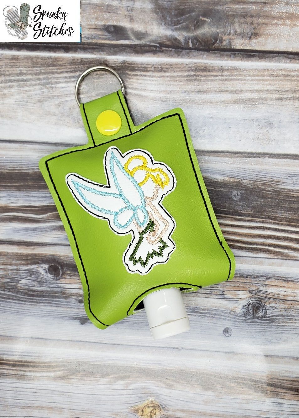 Tinkerbelle Sanitizer Holder Key Fob Hand Sanitizer Holder