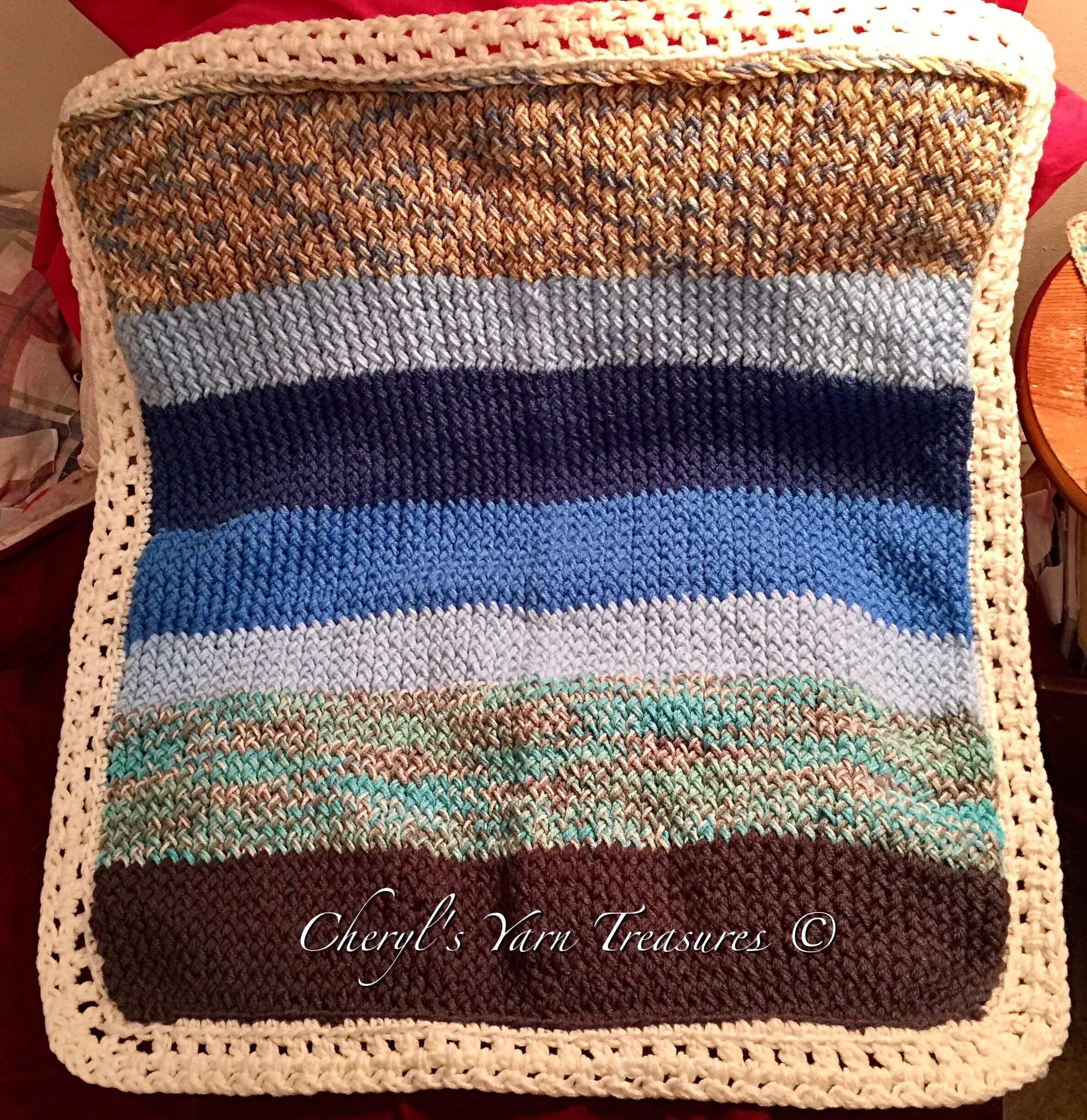 Loom Knit Baby Blanket 31 Long By 28 12 Wide Used Long Orange
