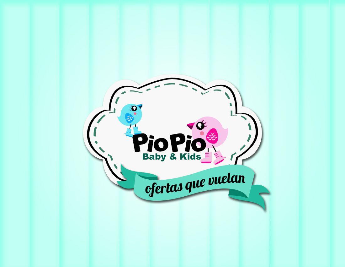 logotipo creado para tienda de ropa de niños design