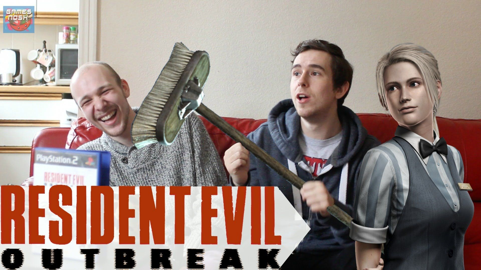 Josh was too busy to film the Resident Evil 5 review, so