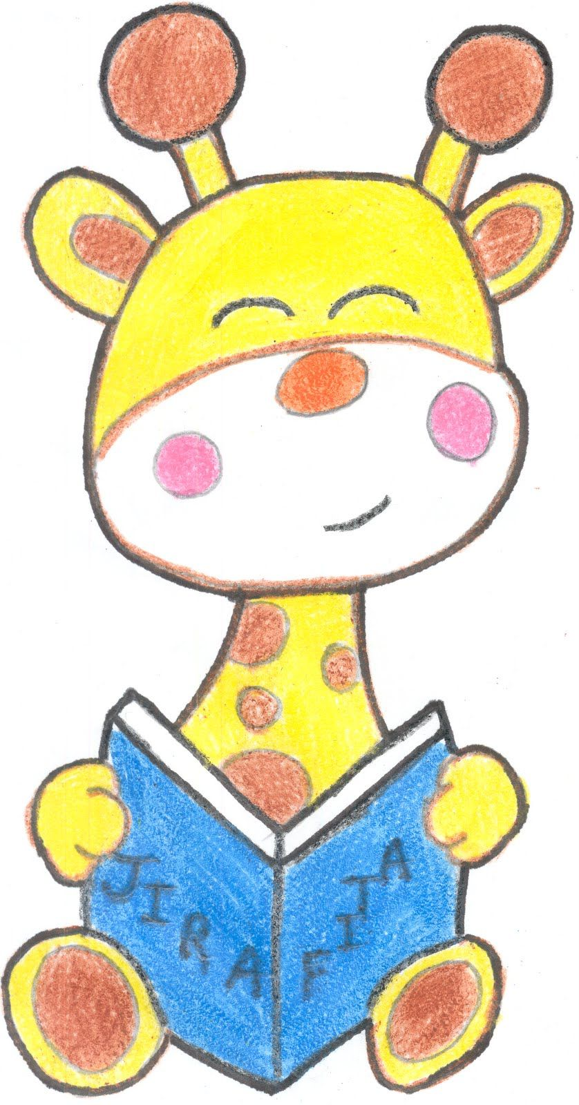 Bienvenidos Al Blog De Victor Abril 2010 Dibujo De Jirafa
