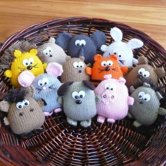 Les 25 meilleures id es de la cat gorie animaux en tricot - Animaux en tricot facile ...