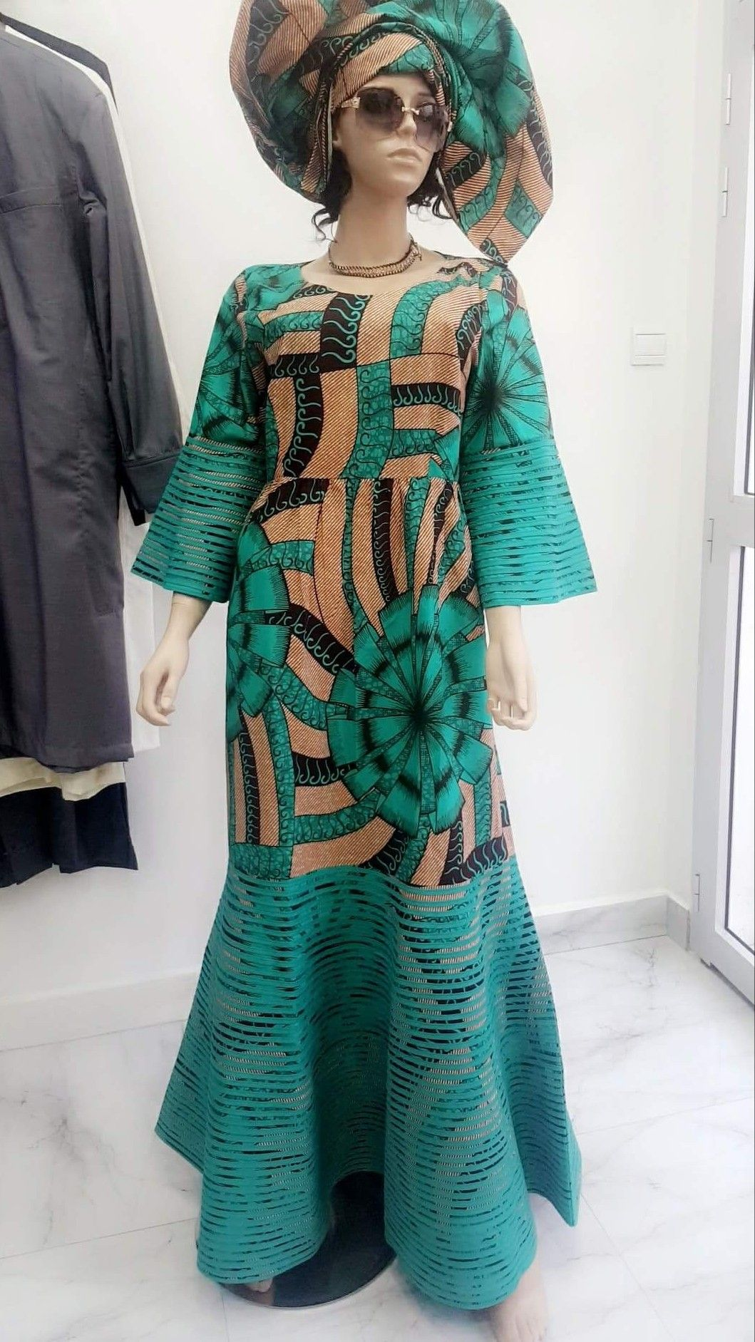 1000 Images About African Print 2 Piece Outfit On: African Women Two Piece O-neck Print Skirt Set African