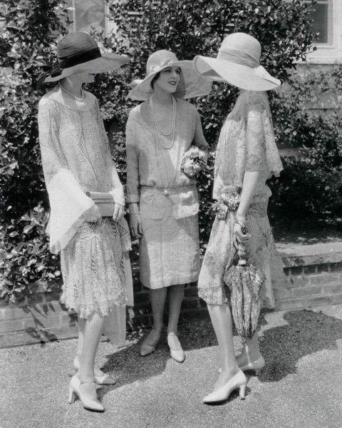 1920s garden party costume femme ann es 1920 pinterest mode des ann es folles les ann es. Black Bedroom Furniture Sets. Home Design Ideas