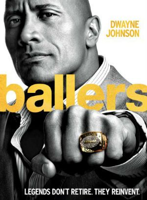 dwayne johnson s ballers on hbo renewed tv movies rh pinterest es