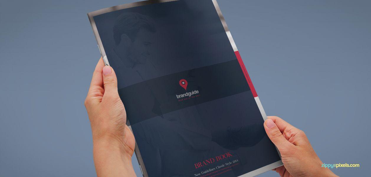 The Harmony - Free Brand Book Template | ZippyPixels | Design ...