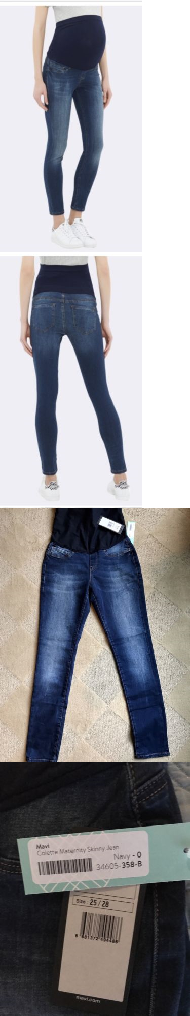 649c2c6ac74a1 Jeans 11535: Nwt Stitch Fix Mavi Maternity Skinny Jeans Colette Vanessa  Size 0 25 25X28 Xs -> BUY IT NOW ONLY: $49.99 on eBay!