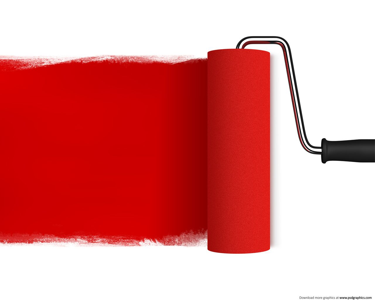 Red Paint Colors Red Color  Medium Size Preview 1280X1024Px Red Paint Roller