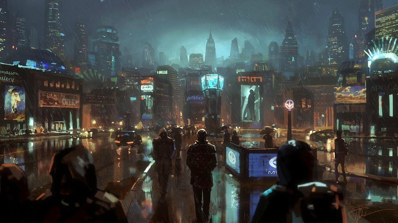 Cyberpunk Wallpapers 1920x1080 Cyberpunk City Sci Fi City Futuristic City