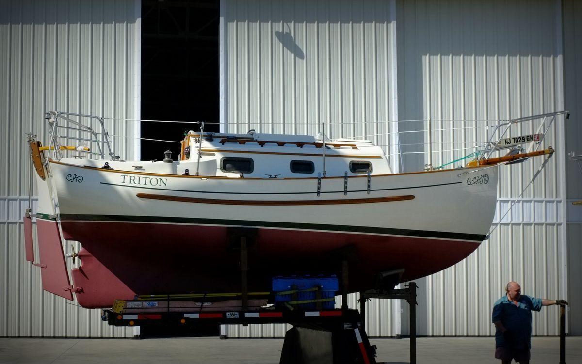 "Pacific Seacraft Flicka 20 - ""Triton"" - Starboard-side ..."