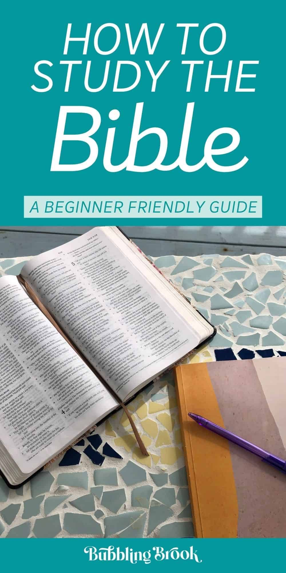 How To Study The Bible For Beginners Ultimate Guide In 2021 Easy Bible Study Bible Studies For Beginners Free Bible Study Easiest bible to read for beginners