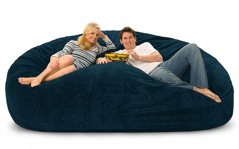Large Bean Bag Chairs For S Giant Extra Fombag Hugebeanbagchair
