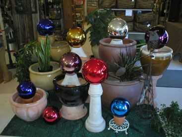 17 Best 1000 images about Gazing Balls on Pinterest Gardens Garden