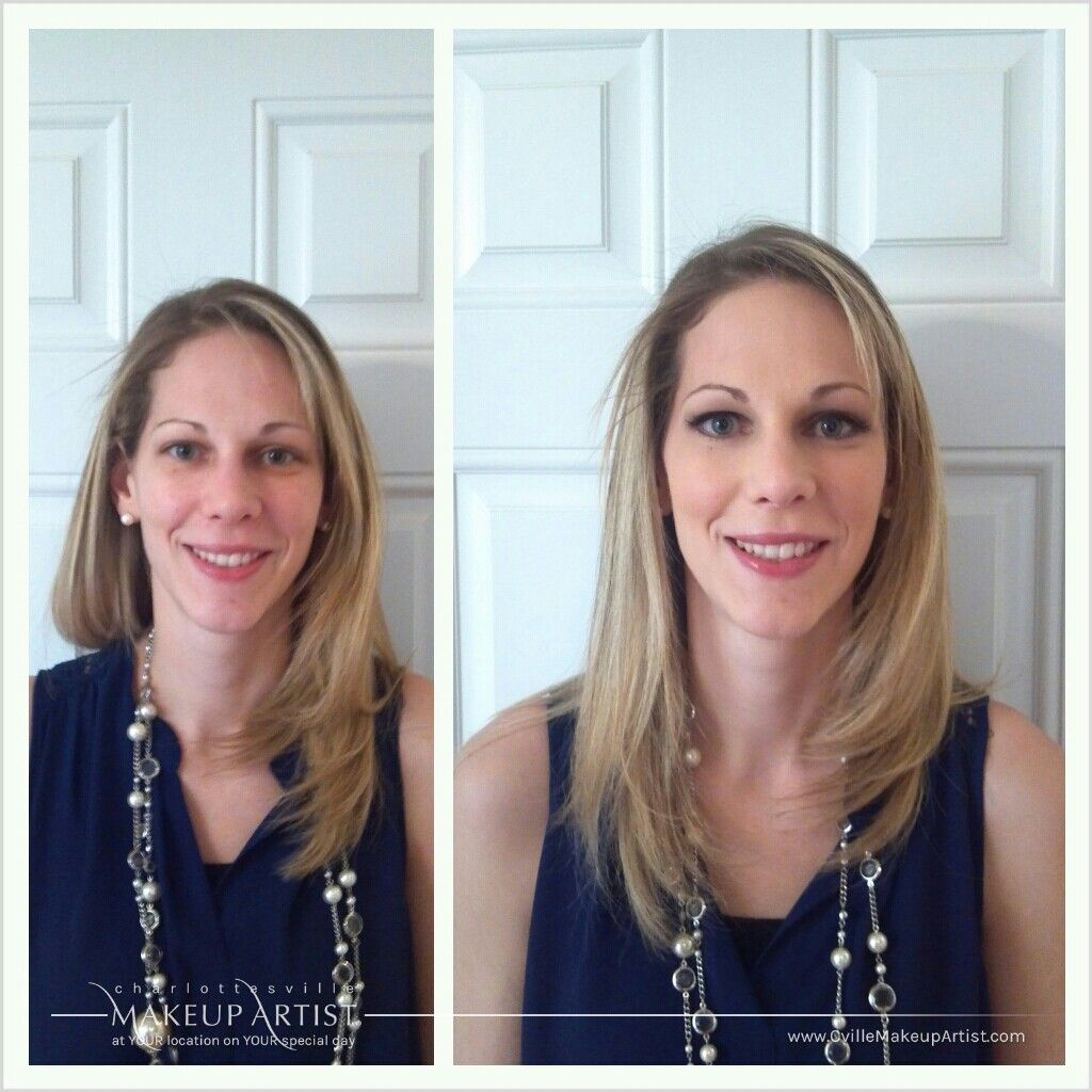 wedding hair and make-up trial | bride nicole s | charlottesville