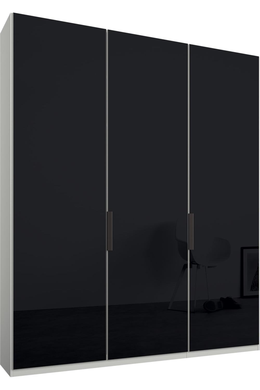 Caren Kleiderschrank Mit 3 Turen 150 Cm Classic In Weiss