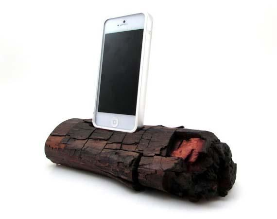The Red Wood iPhone 5 Docking Station | Apple Gadgets | Pinterest ...