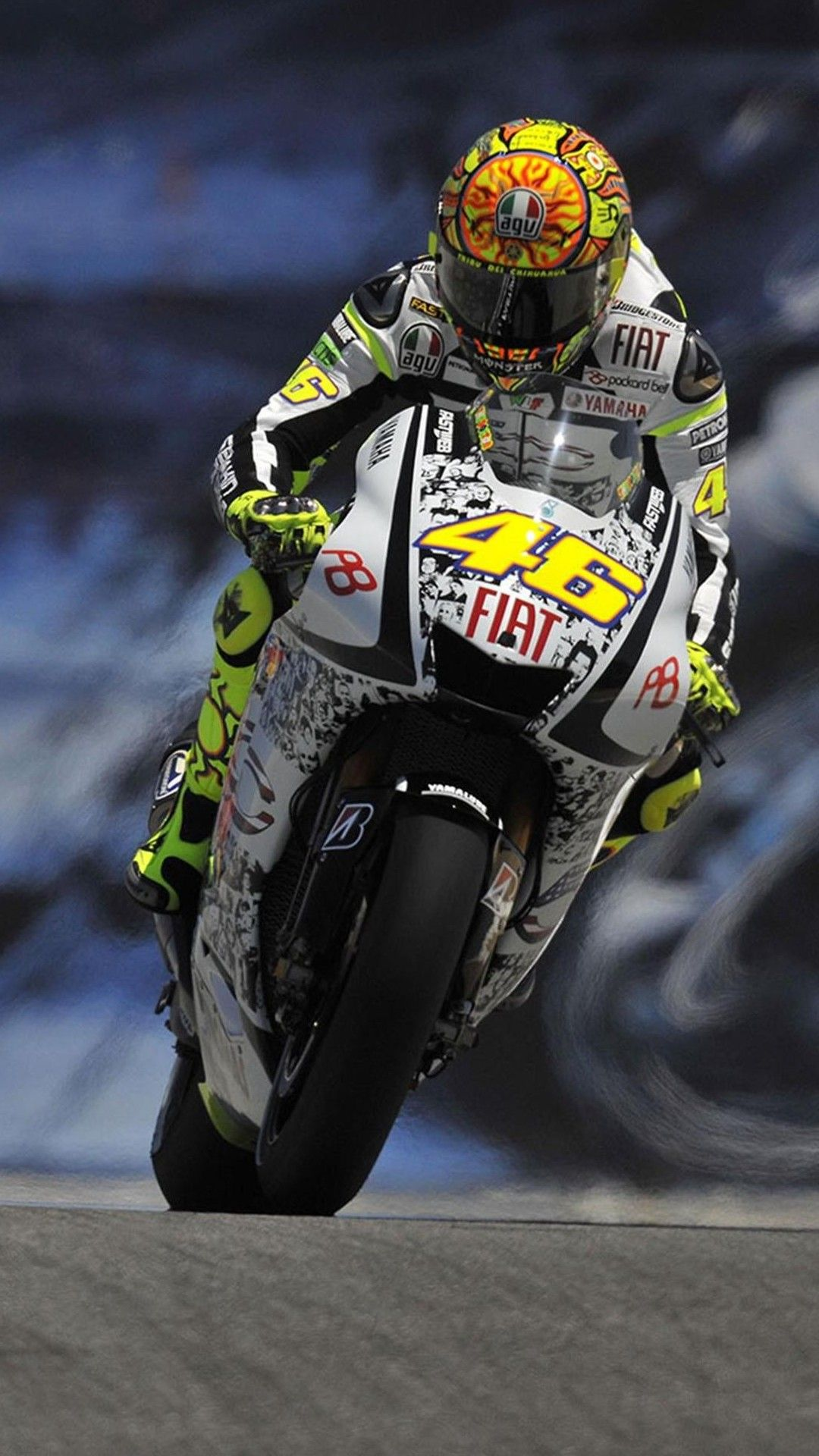 Valentino Rossi MotoGP HTC One wallpaper Pinterest Rossi