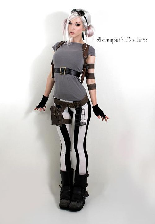 Kato (Steampunk Couture). This Girl Is Amazing. She Sews, Draws, Models,  Does Hair And Makeup, And Builds Her Props From Scratch. Plus Sheu0027s One Of  The Most ...