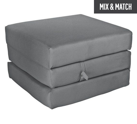 Colourmatch Single Mattress Cube Flint Grey At Argos Co Uk Visit