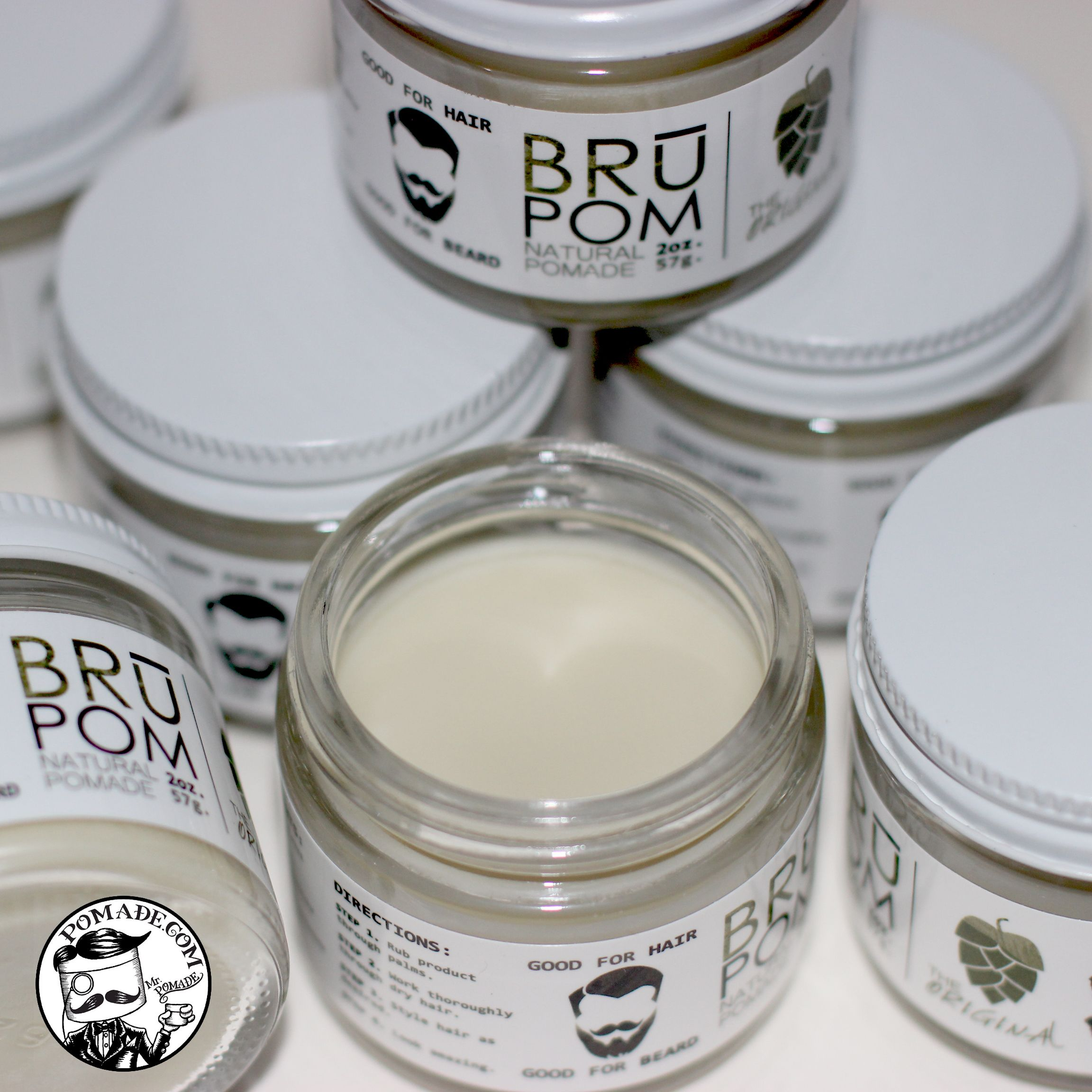 Wake up to another wonderfully scented pomade Brū Pomade