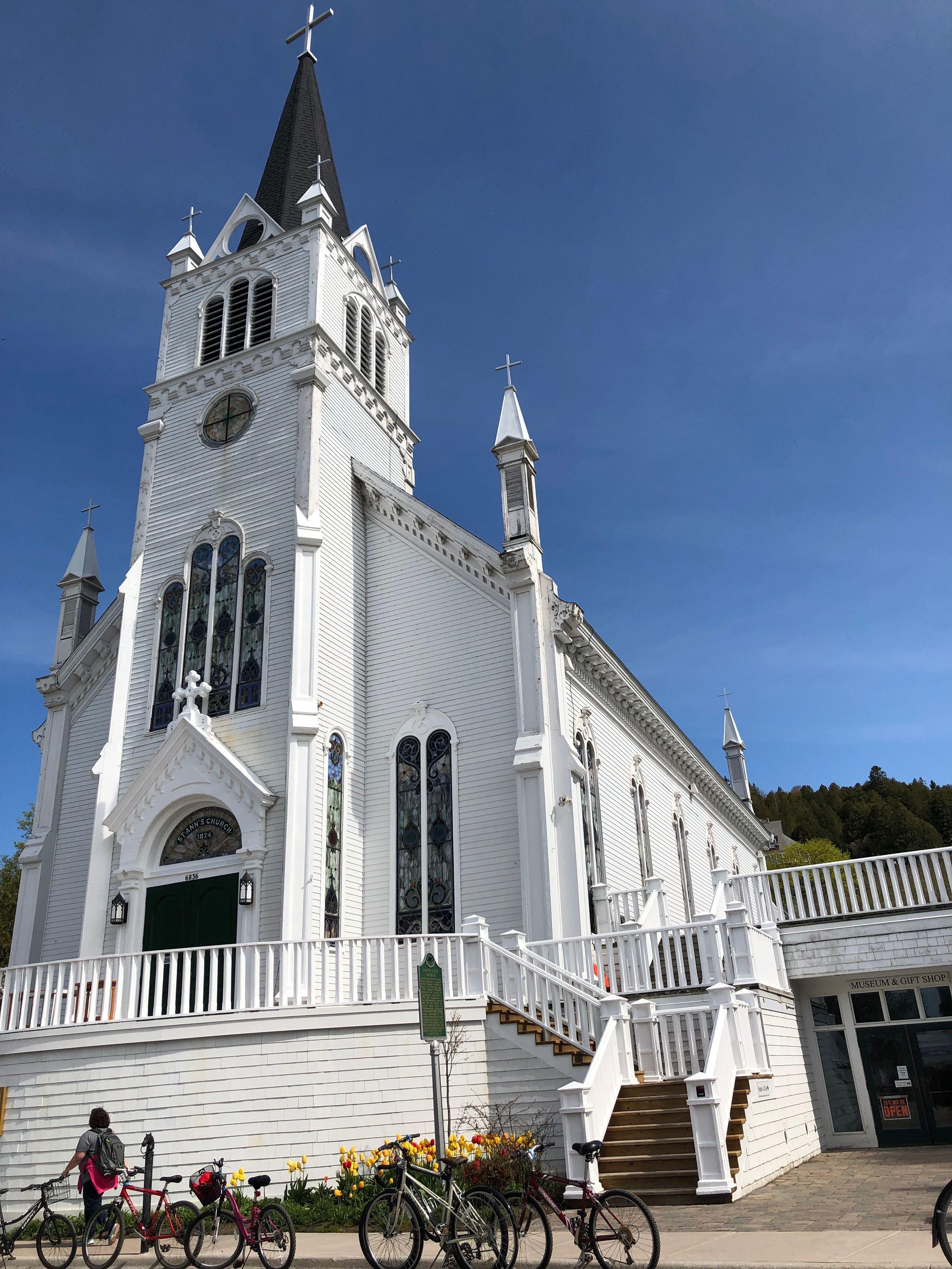 St Anne S Church Mackinac Island Mi Mackinac Island Church St Anne