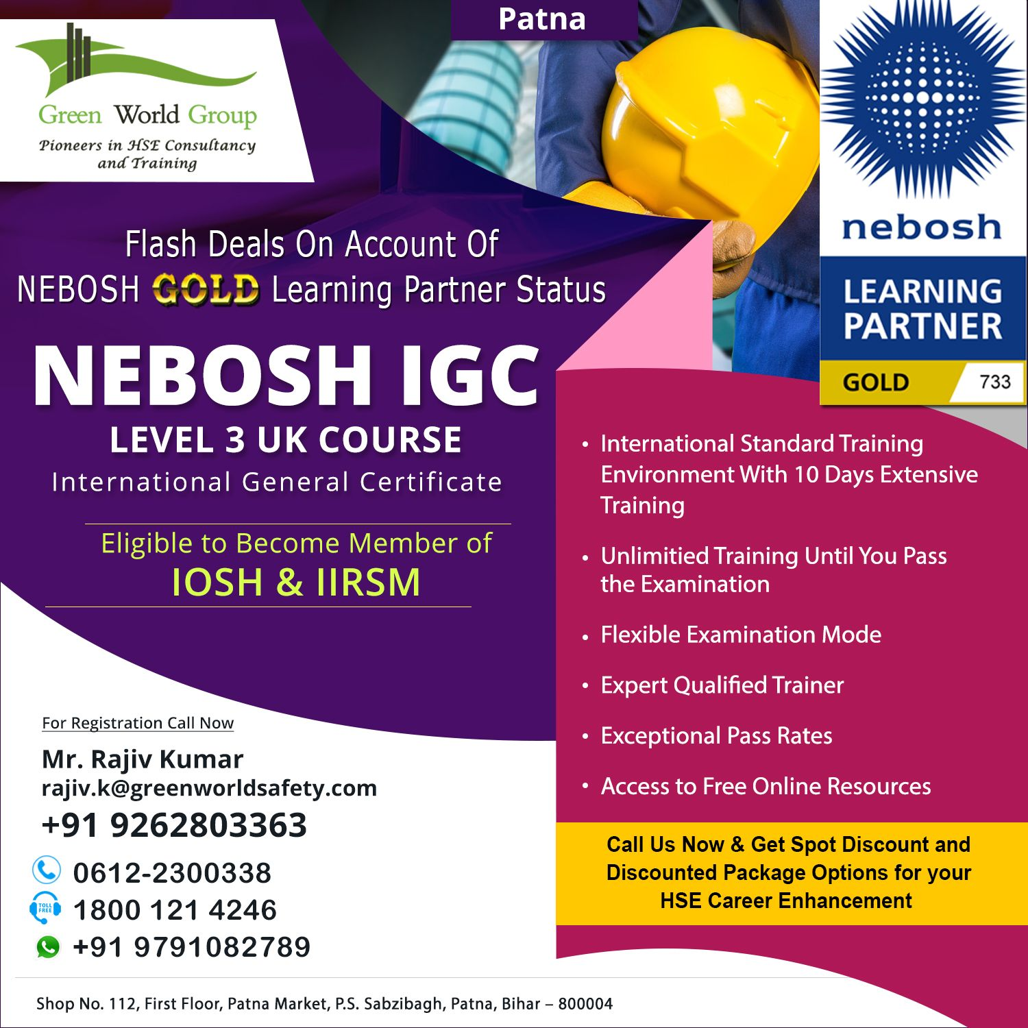 NEBOSH Safety Course in Patna in 2020 (With images