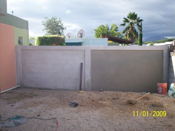 Information About Rate My Space | Concrete block walls ... on Backyard Cinder Block Wall Ideas id=56876