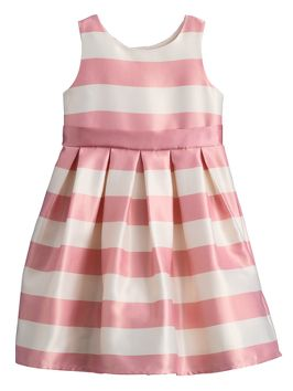 Ladybird Stripe Bridesmaid Dress