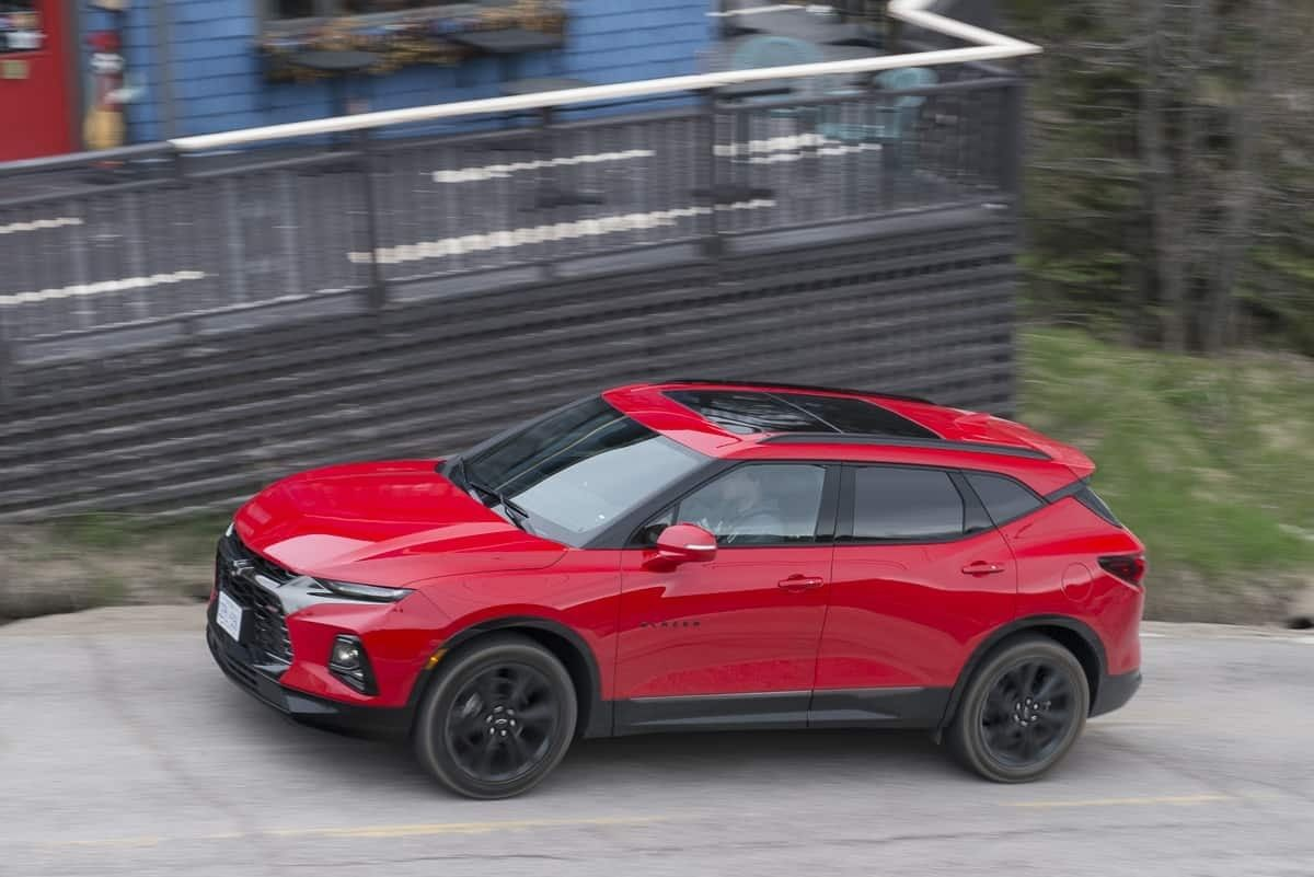 2019 Chevy Blazer Rs Review Is This Sporty Suv Actually Sporty
