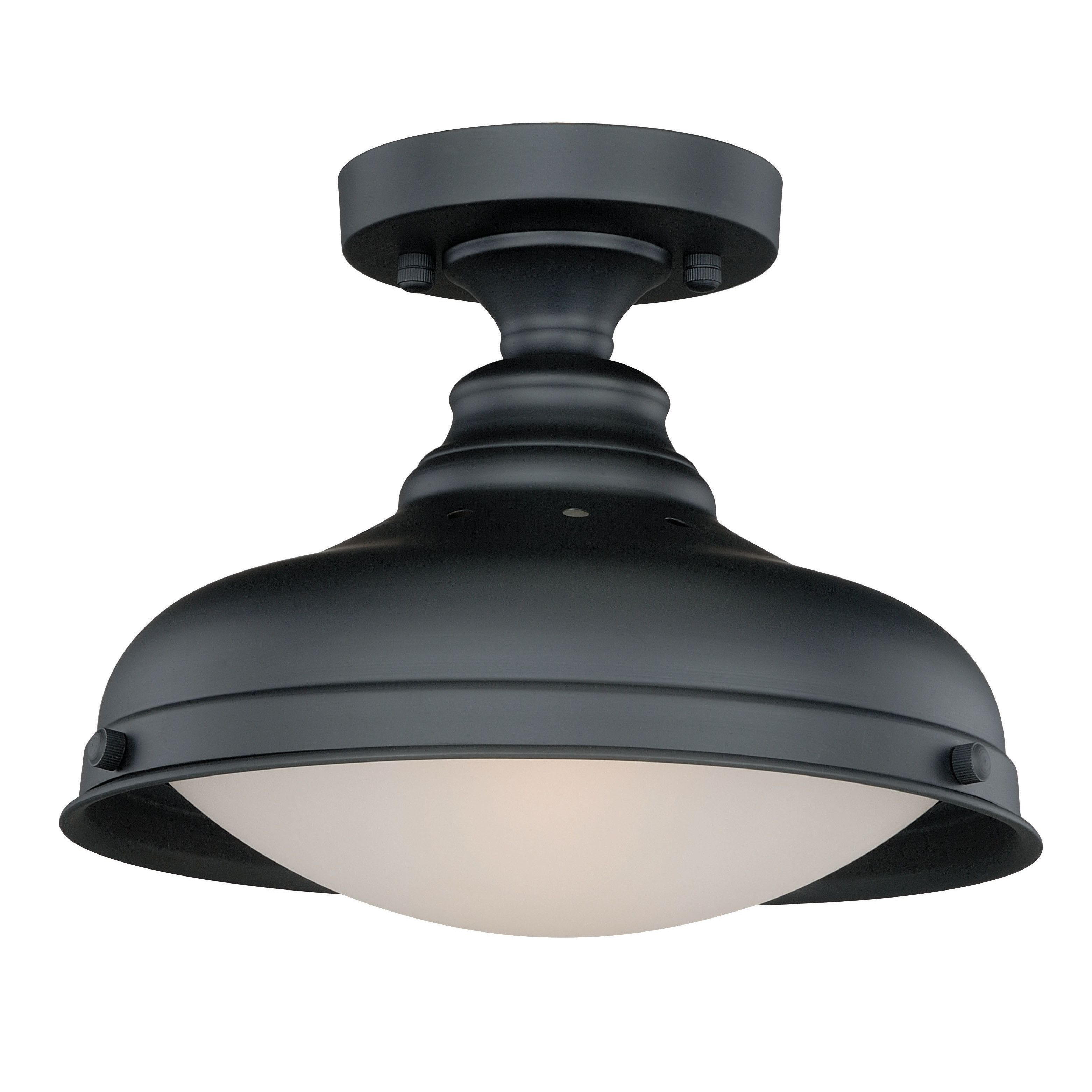 1 Light 12 25 Simple Dome Semi Flush Mount Flush Mount