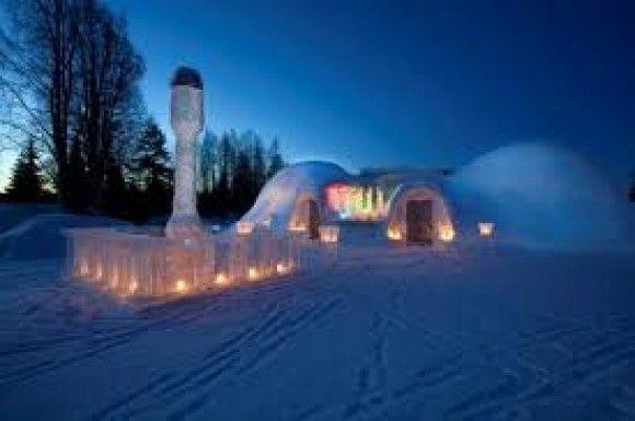 Come costruire un hotel di ghiaccio | Viverenews