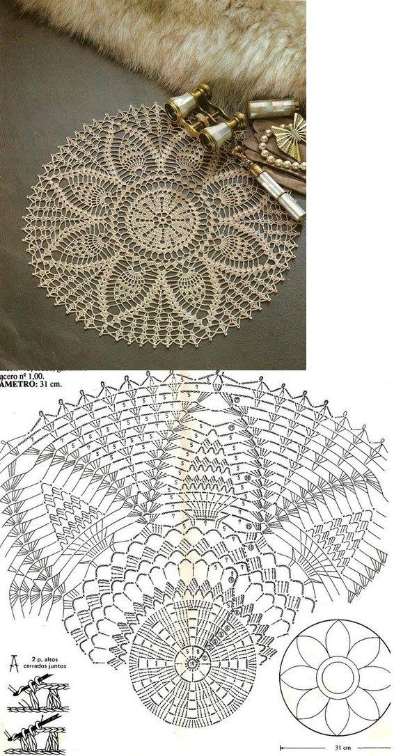 Crochet Lace...♥ Deniz ♥ | Patrones | Pinterest | Carpeta ...