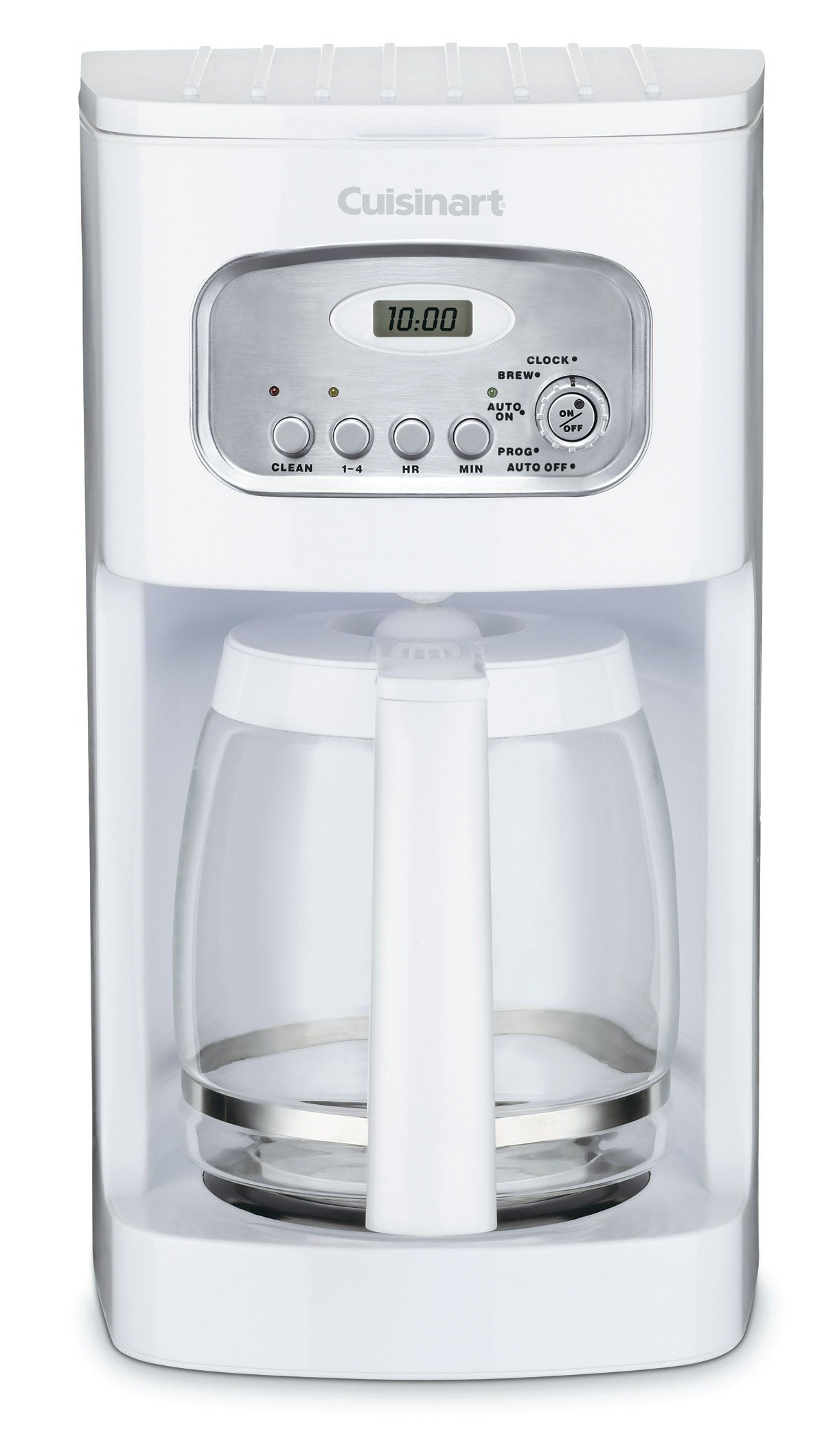 Cuisinart DCC1100 12Cup Programmable Coffeemaker, White