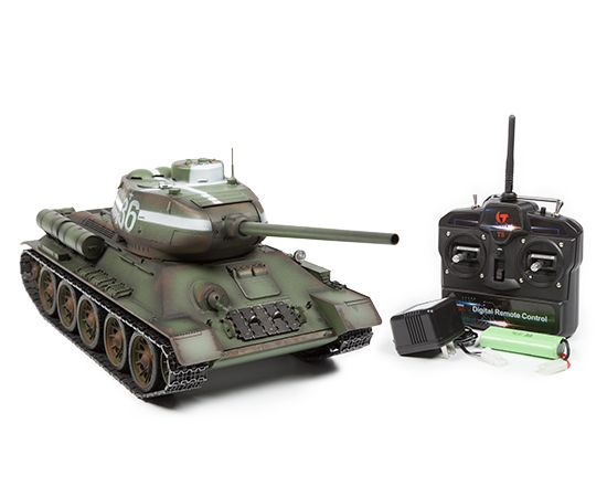 IMEX Taigen T34-85 Russian 1:16 RTR RC Airsoft Tank | RC Toys