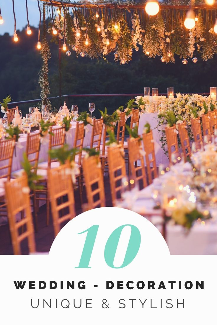 Wedding decoration designs  Liven Up Your Personal Wedding Decorations By Having One Of These