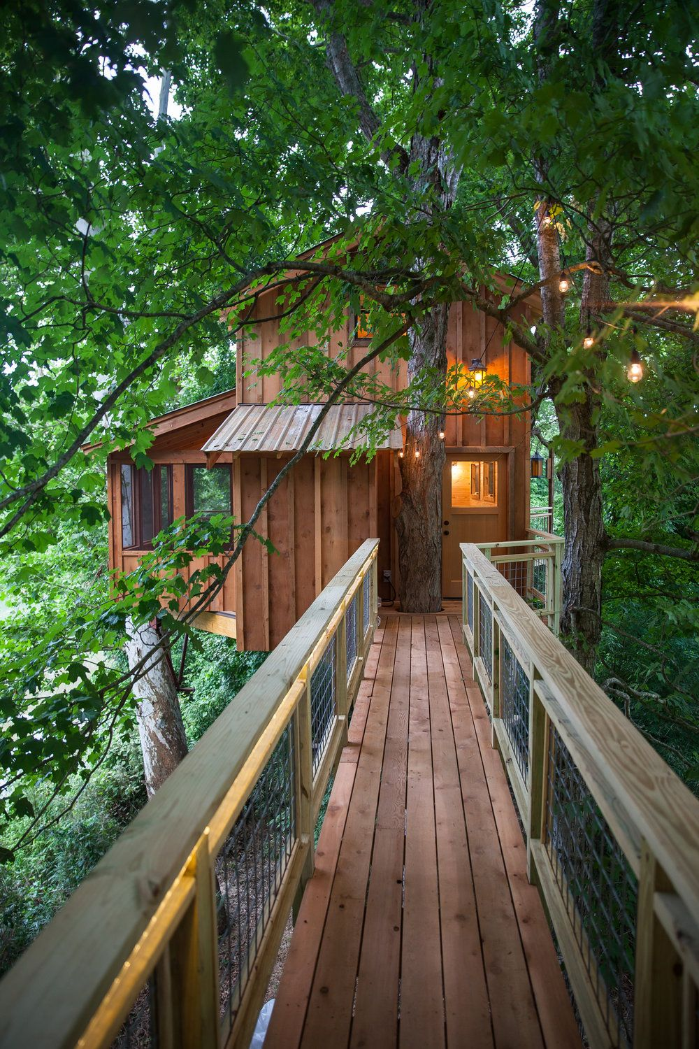 Tennessee Riverbank Treehouse   Pete Nelson   Nelson Treehouse And Supply