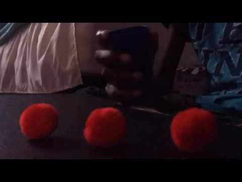 Three ball and cup trick