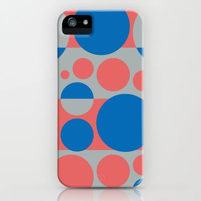 Summer spring fashion colors circles design 3.0 iPhone & iPod Case by aapshop - $35.00