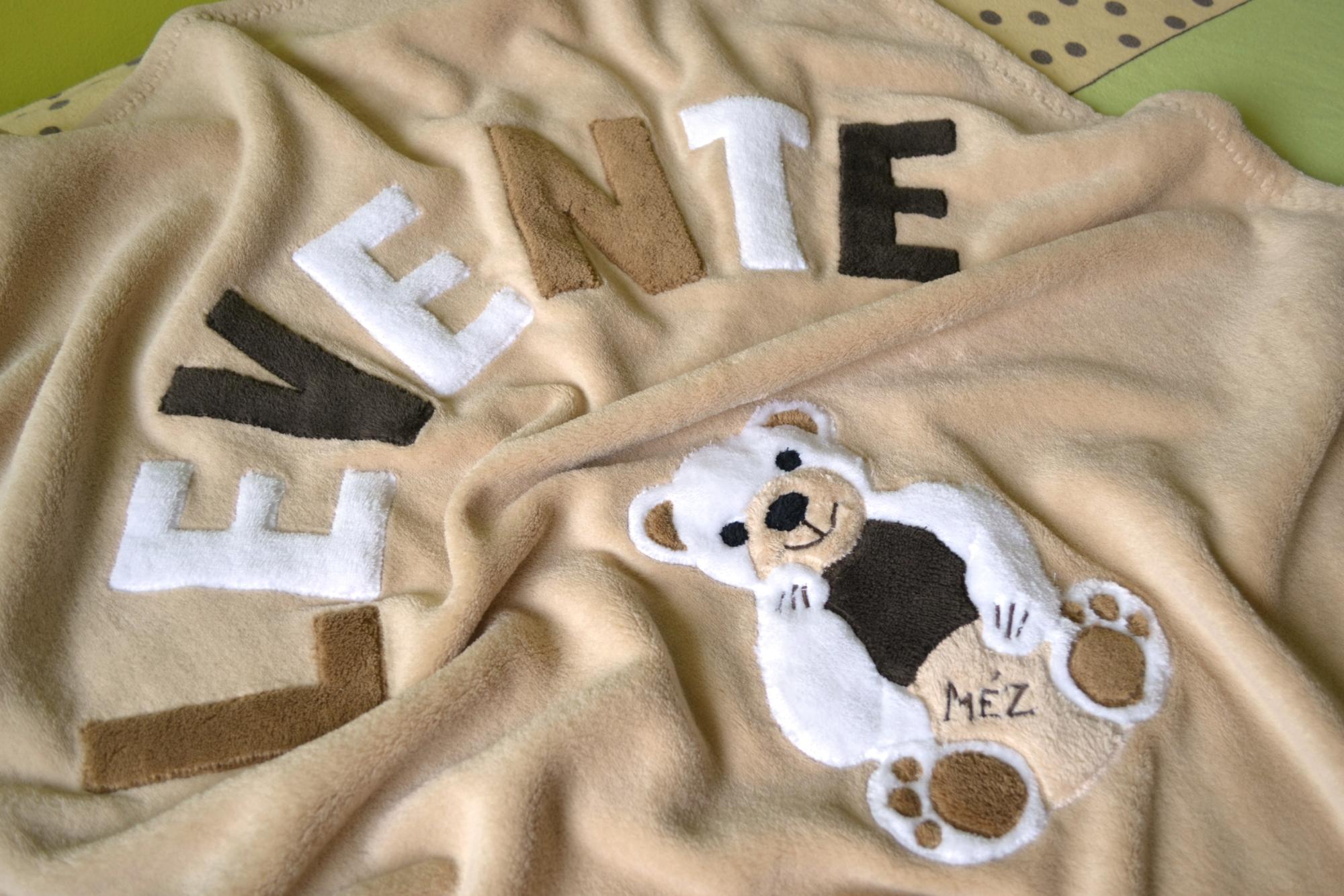 Névre szóló takaró babáknak fc3650d70d