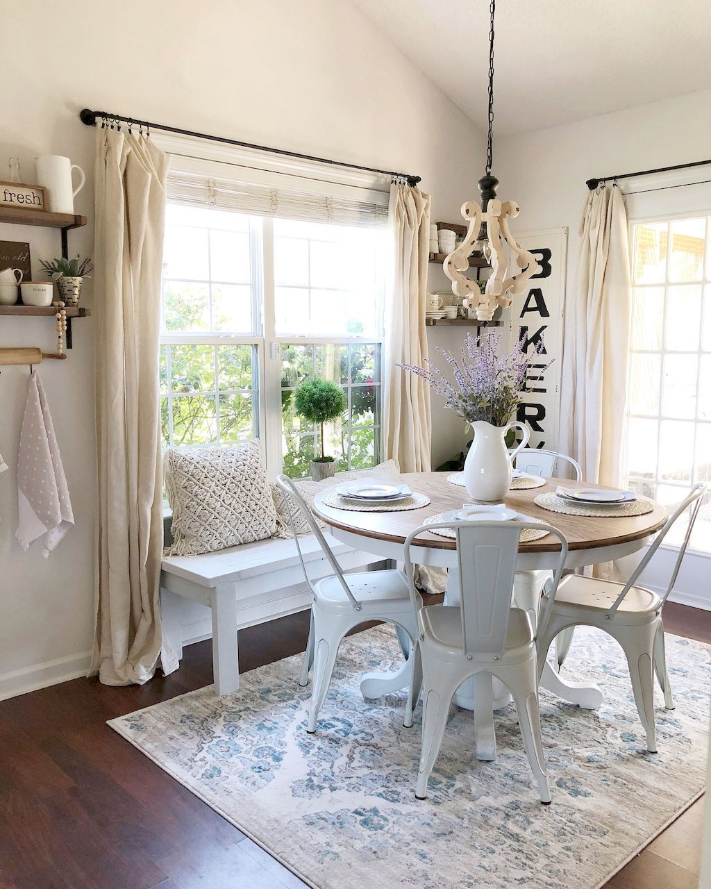85 Beautiful Farmhouse Living Room Curtains Decor Ideas ... on Farmhouse Curtain Ideas For Living Room  id=56621