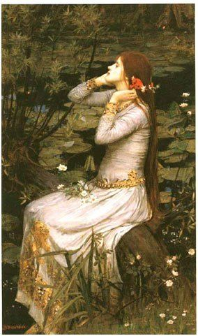 Ophelia in nineteenth-century English art, inspired by John Everett Millais