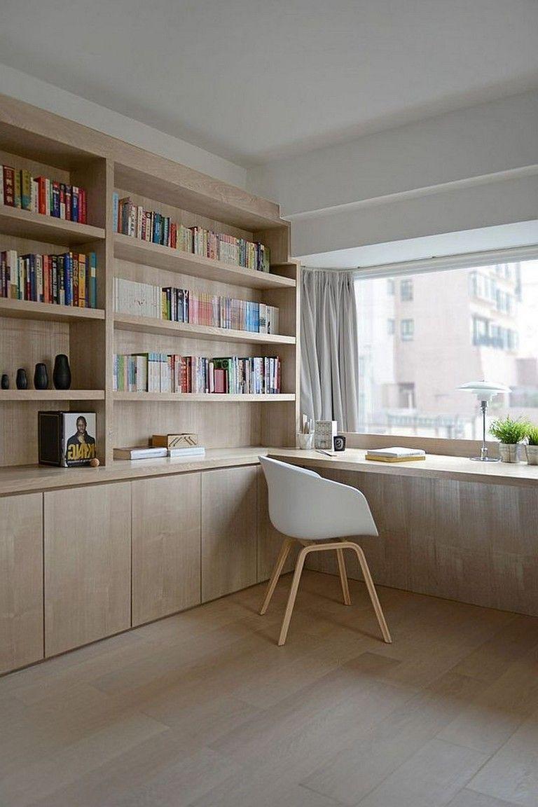 25 stunning home office ideas for better work at home home rh pinterest com