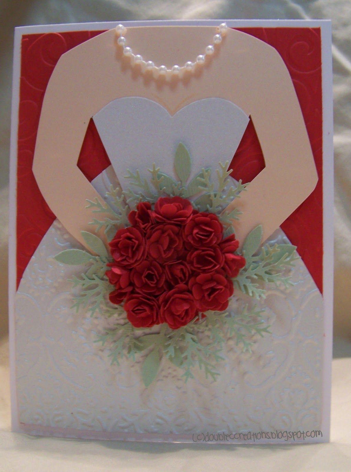 Double C Creations: Bride Card | Cards/Ideas/Techniques/Tutorials ...